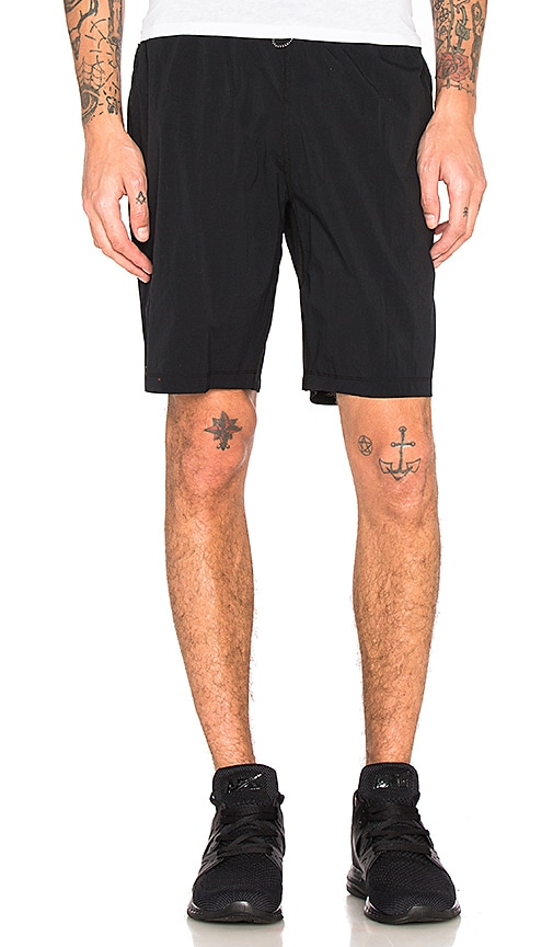 Reigning Champ Nylon Short in Black
