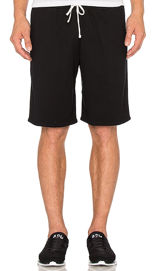 Reigning Champ Core Sweatshorts in Black