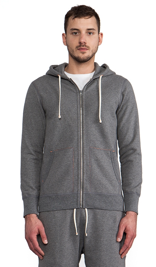 x United Arrows Beauty & Youth Full-Zip Hoodie