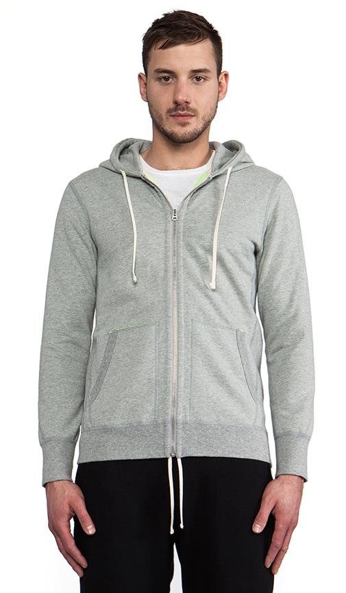Beautiful Men's Adidas Originals X By O Zip Up Hoodie Grey