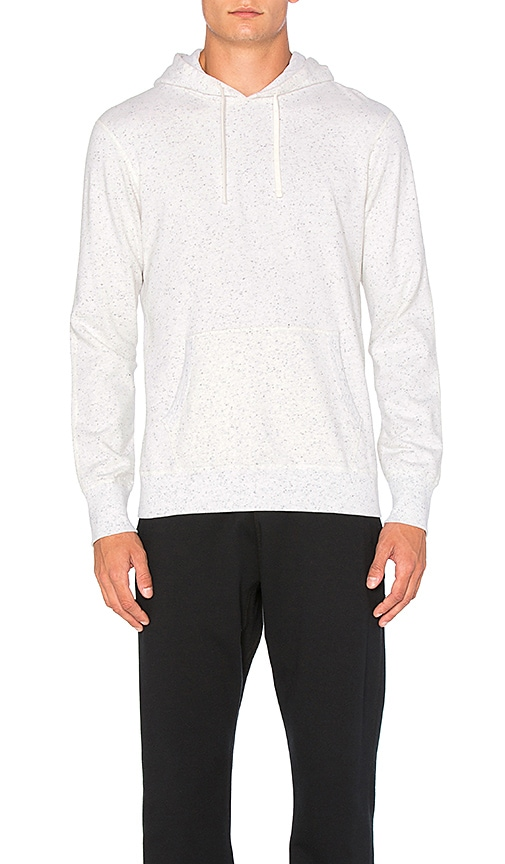 Reigning Champ Pullover Hoodie in White