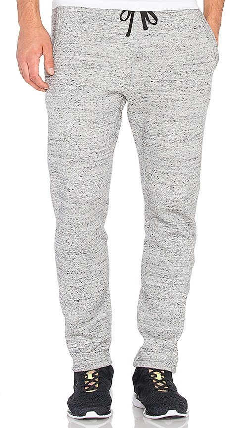 Reigning Champ Mesh Fleece Track Pant in Asphalt