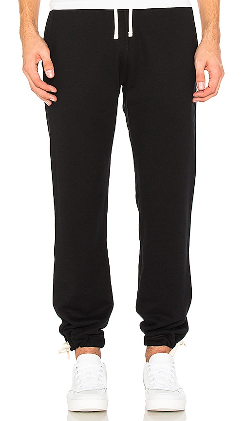 Reigning Champ Core Sweatpants in Black