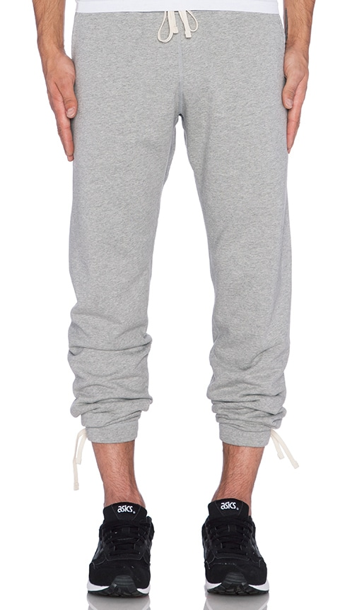 Reigning Champ Core Sweatpants in Heather Grey