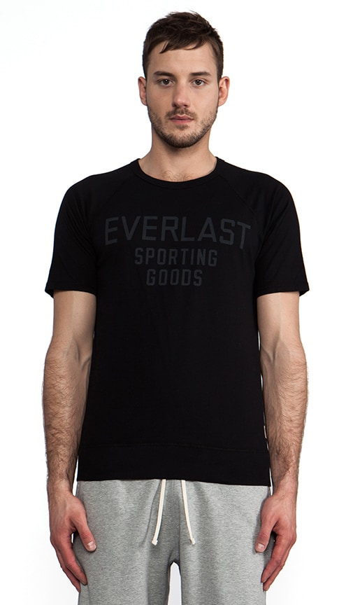 x Everlast Sporting Goods Raglan Tee