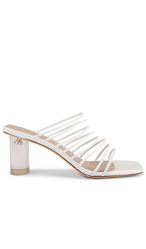 REJINA PYO Zoe Sandal in Leather White