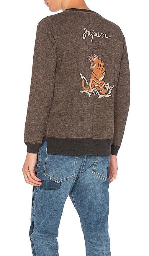 Remi Relief JQ Sweatshirt in Brown