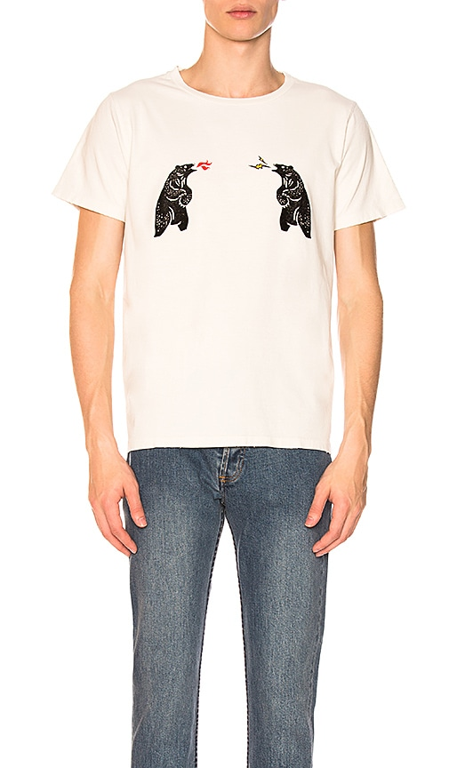 Remi Relief Bear Tee in White