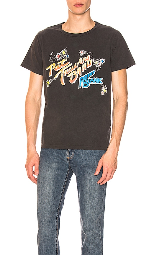 Remi Relief Pat Travers Band Tee in Black