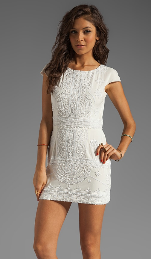 Lola-Lola Silk Cap Sleeve Dress