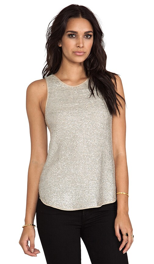 2 Tone Sequin Tank Tunic