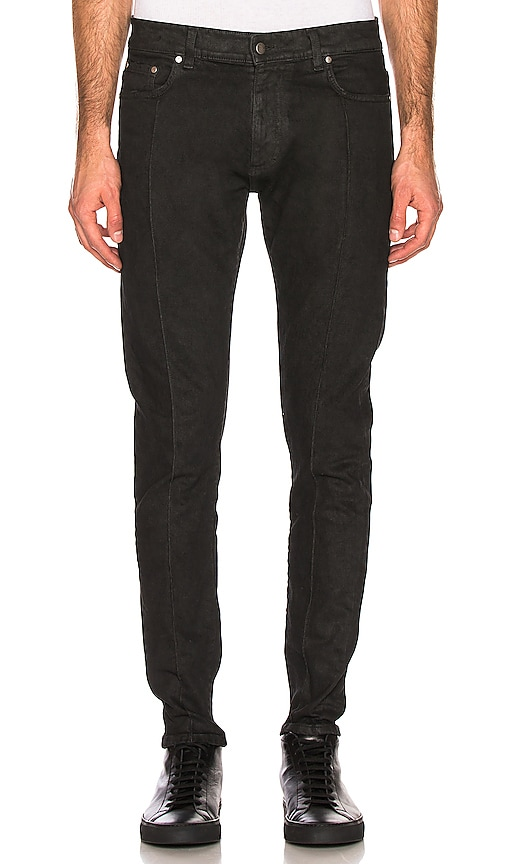 Essential Waxed Denim Jeans