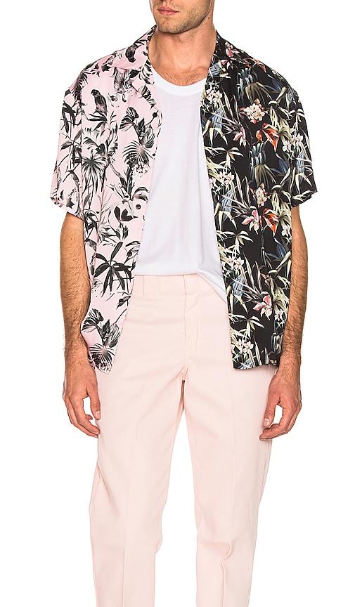 Viscose Camp Collar Shirt