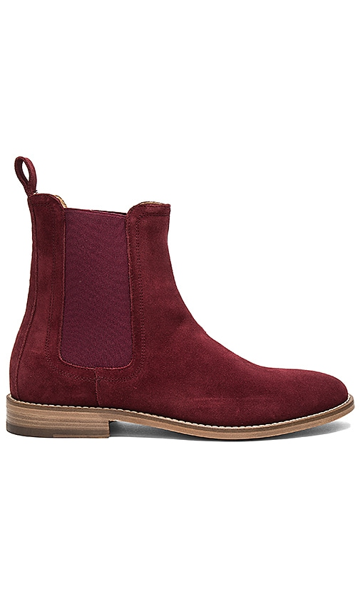 REPRESENT Chelsea Boots in Burgundy