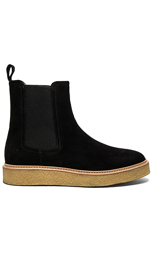 REPRESENT Wedge Boots in Black