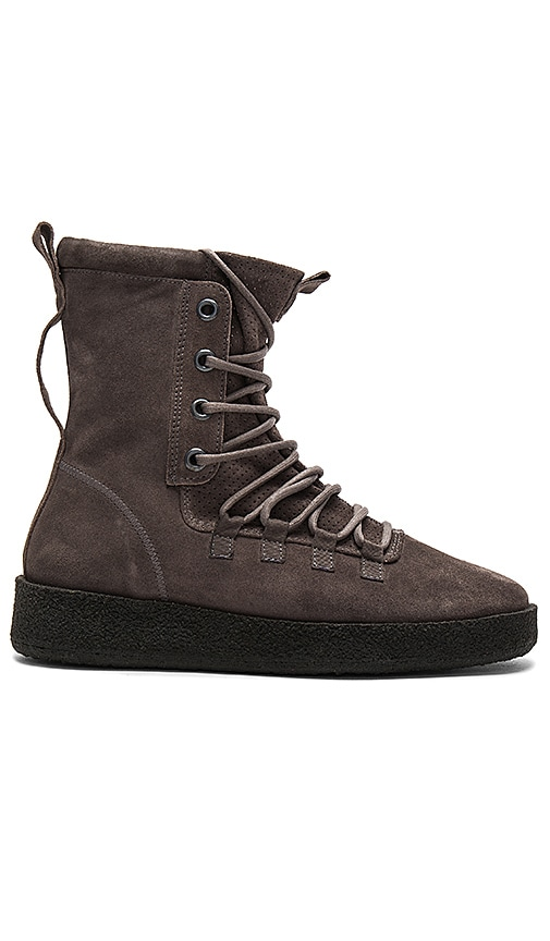 REPRESENT Dusk Boots in Charcoal