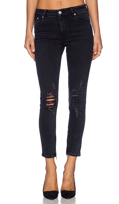 RES Denim Kitty Skinny in Black