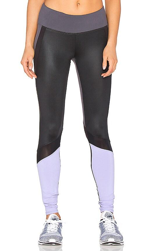 Rese Riley Legging in Slate & Lilac