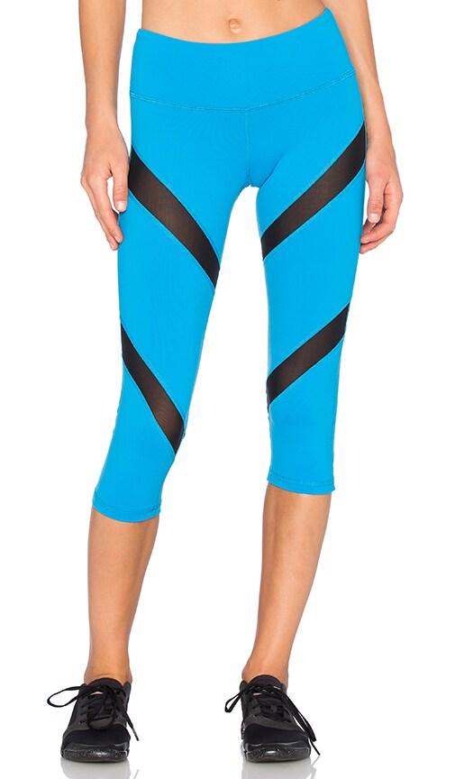 Rese Mia Capri Legging in Blue