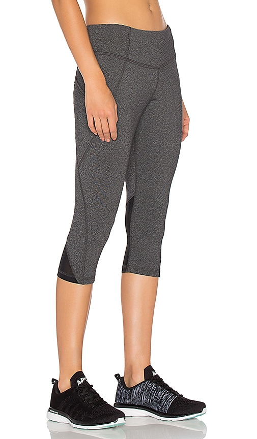 Rese Anne Cropped Leggings in Charcoal