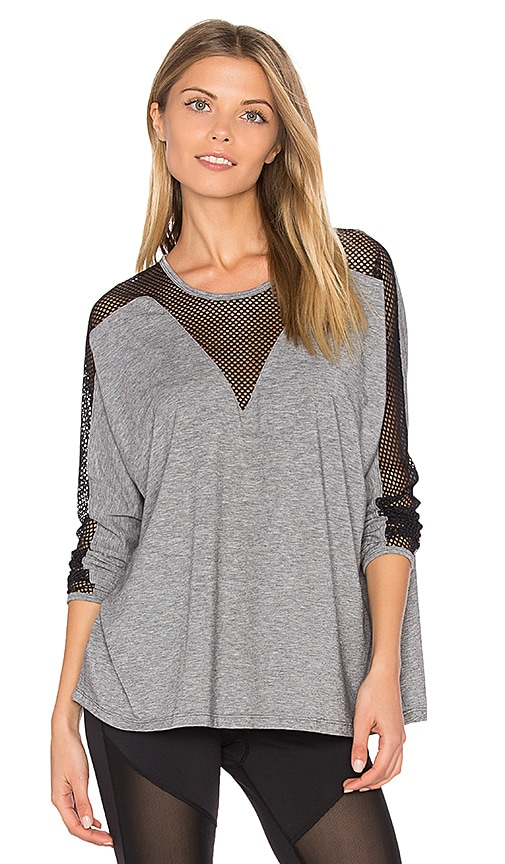 Rese Dahlia Tee in Gray