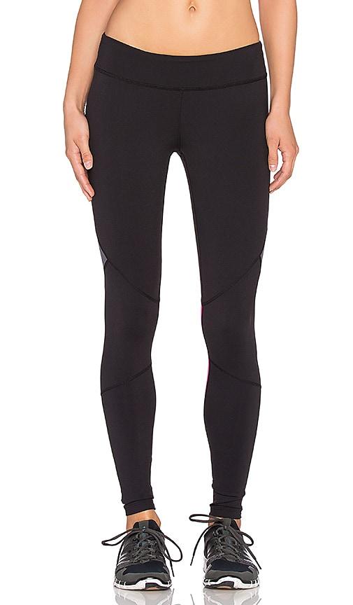 Rese Mackenzie Legging in Black, Perfect Pink & Slate Grey