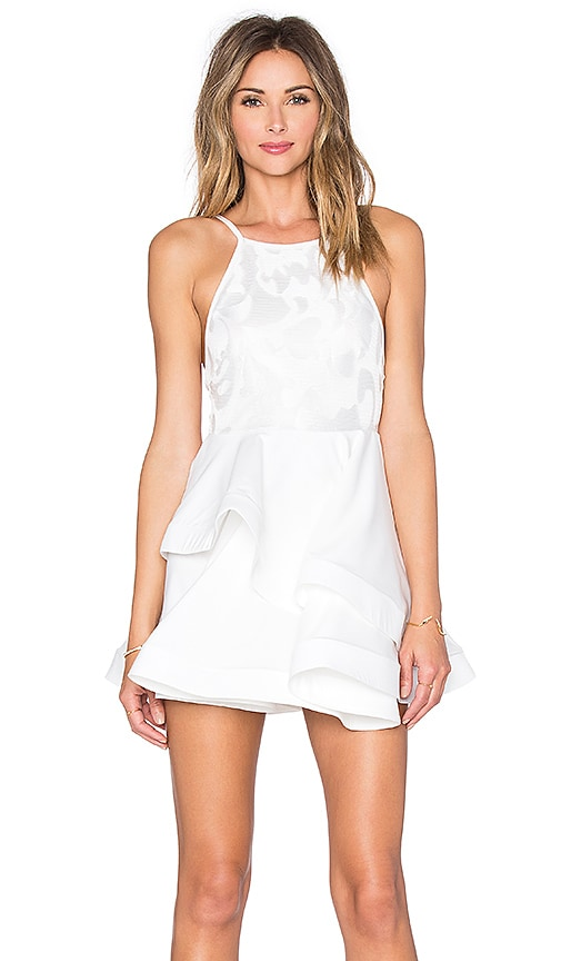 REVERSE Divine Dress in White