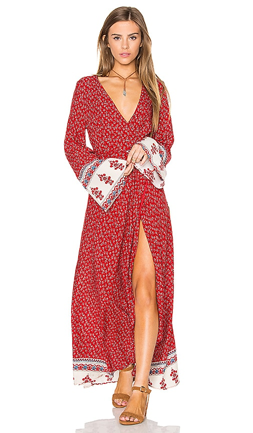 REVERSE Tuesday Maxi Dress in Red