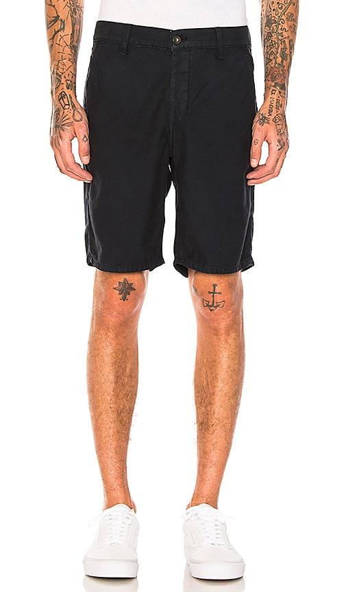 Rag & Bone Standard Issue Shorts in Navy