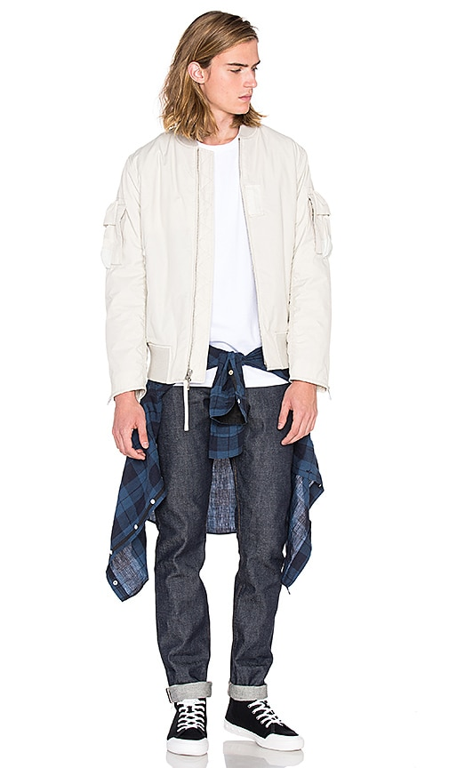 Rag & Bone Driscoll Jacket in Silver Burch