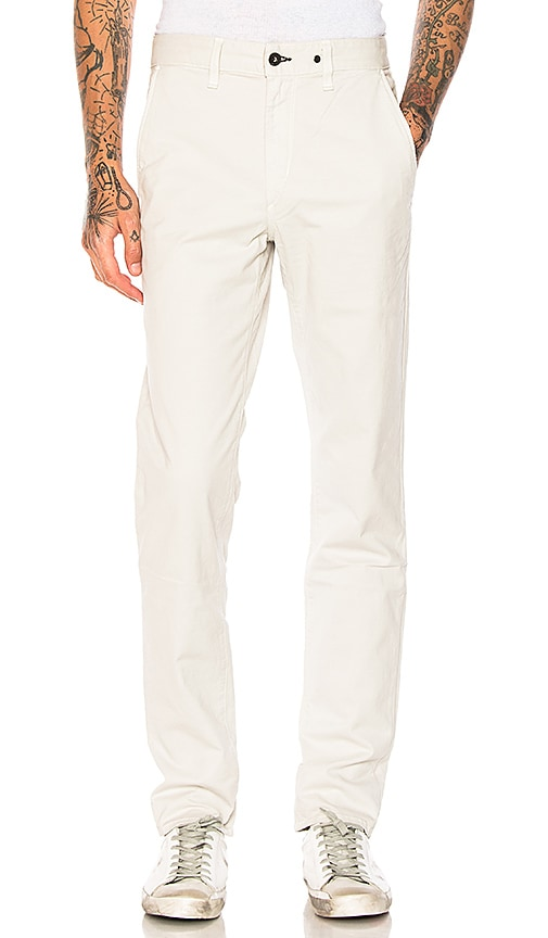 Rag & Bone Fit 2 Chinos in Light Gray