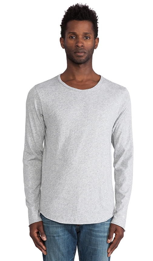 Raw Edge LS Tee