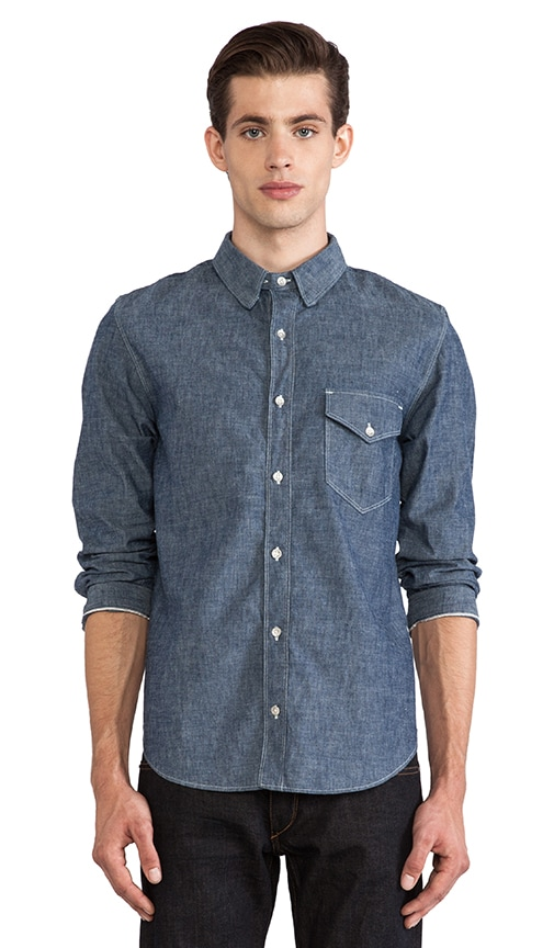 Selvage Button Down