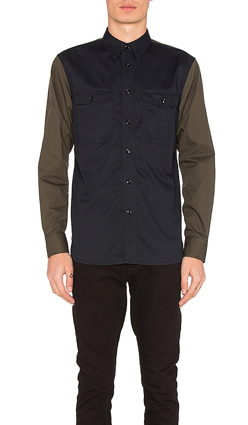 Rag & Bone Jack Shirt in Navy