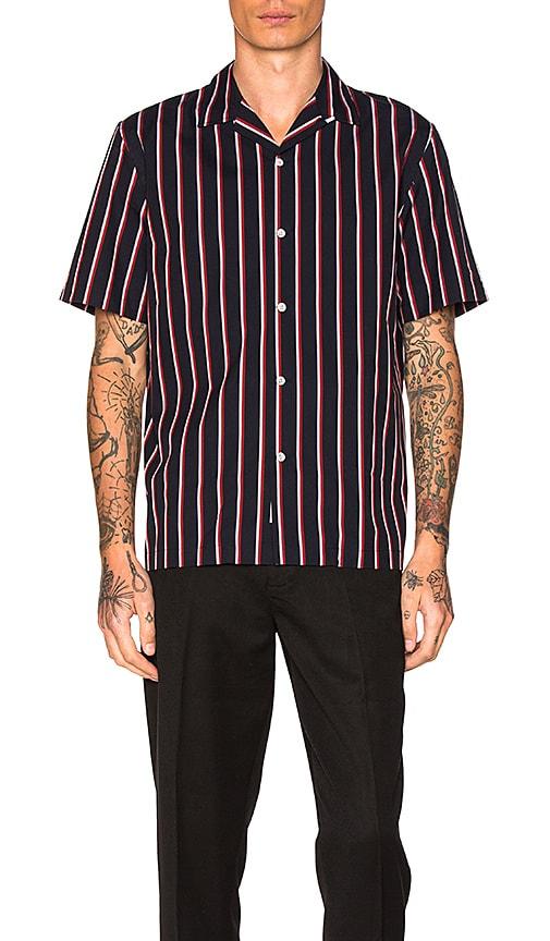 Rag & Bone Glenn Shirt in Navy