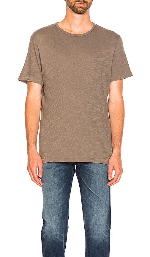 Rag & Bone Standard Issue Classic Tee in Charcoal