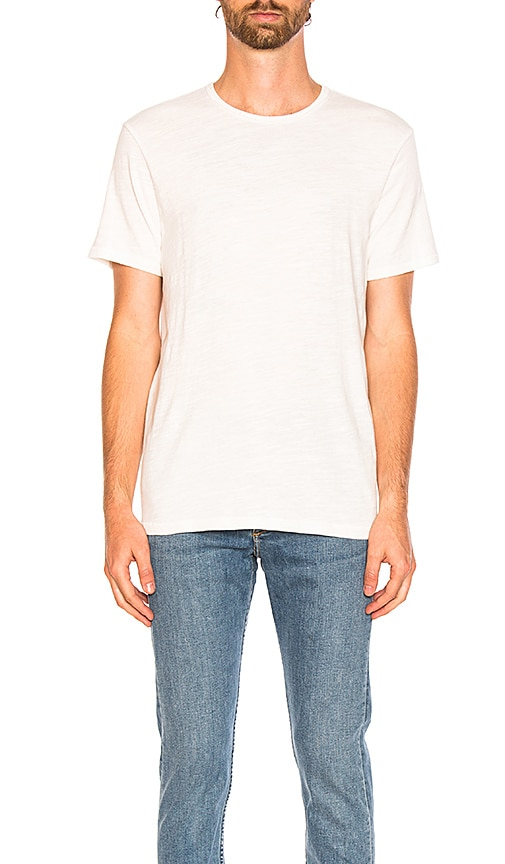 Rag & Bone Standard Issue Classic Tee in White