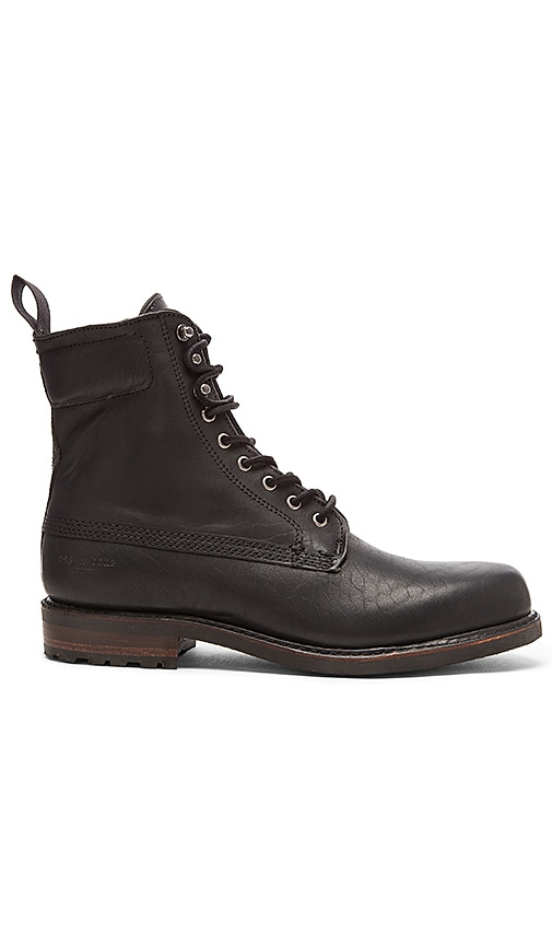 rag & bone Officer Boot II in Black