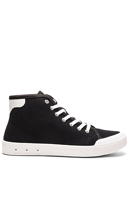 Rag & Bone Standard Issue High Top in Black & White
