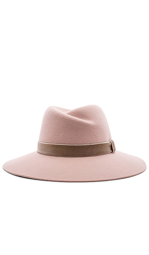 Rag   Bone Zoe Fedora in Light Pink  20c4a3fe0424