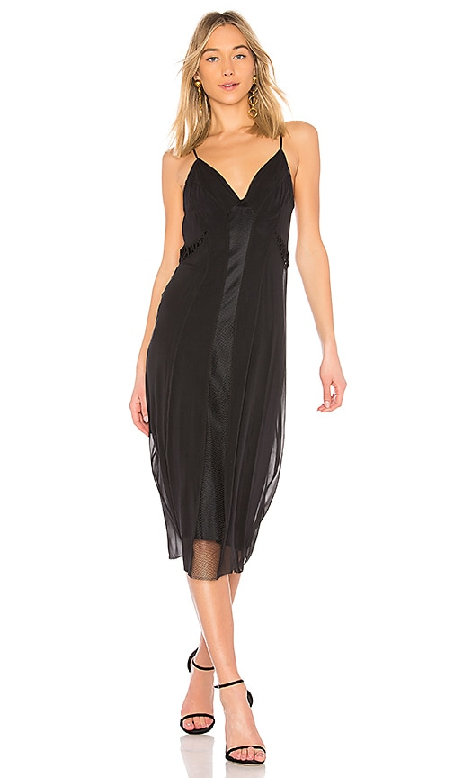 Rag & Bone Louise Slip Dress in Black