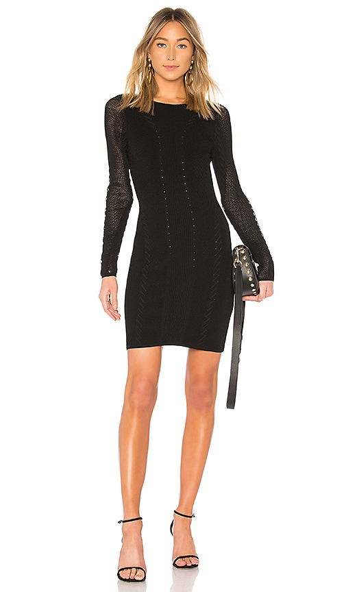 Rag & Bone Brandy Mini Dress in Black