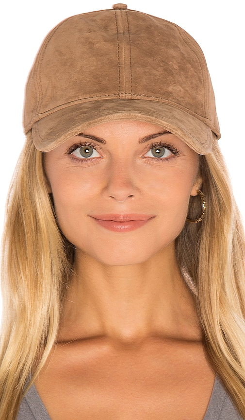 Rag & Bone Marilyn Baseball Cap in Tan