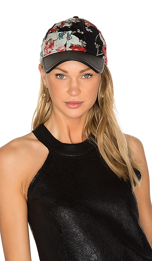 Rag & Bone Marilyn Baseball Cap in Black
