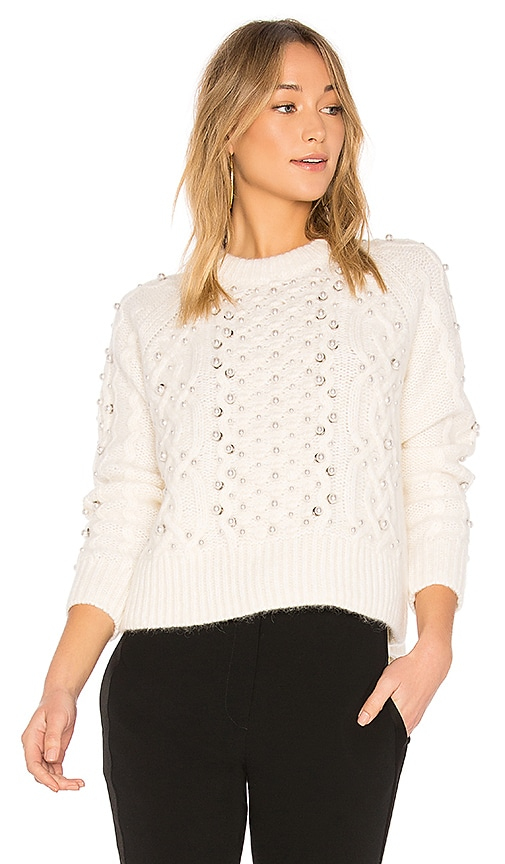 Rag & Bone Jemima Sweater in White