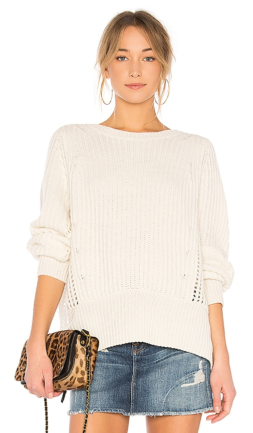 Rag & Bone Athena Sweater in White