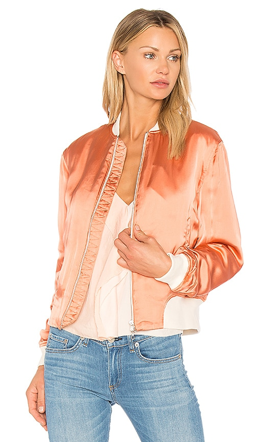 Rag & Bone Morton Bomber in Pink