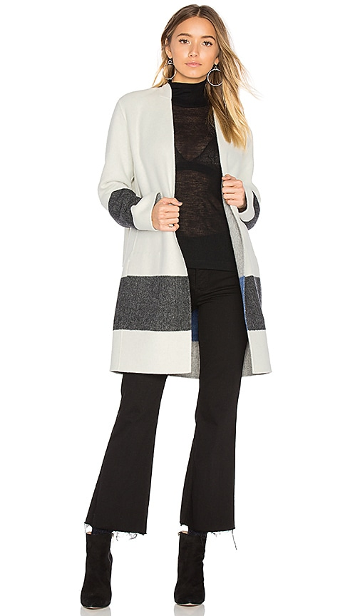 Rag & Bone Elgin Blanket Coat in White