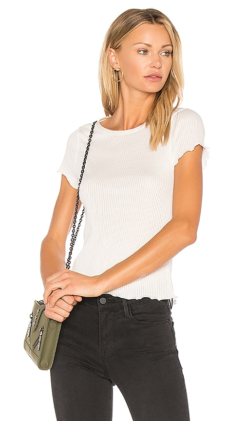 Rag & Bone Dillon Tee in White