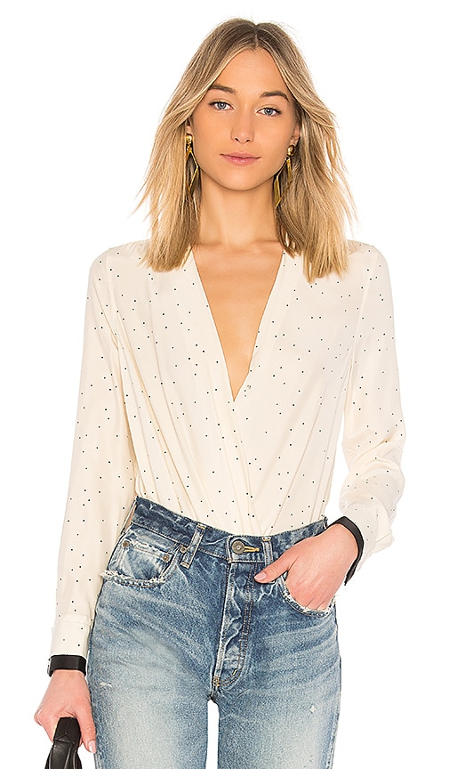6b97a4e781586e Rag & Bone Victor Blouse in Off White | REVOLVE